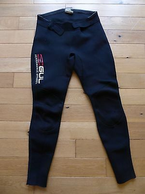Wetsuit trousers, Gul, large waist 34-36 inches