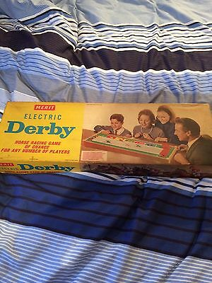 Electric Derby Game. Horse Racing Dated 1964 Fully Working