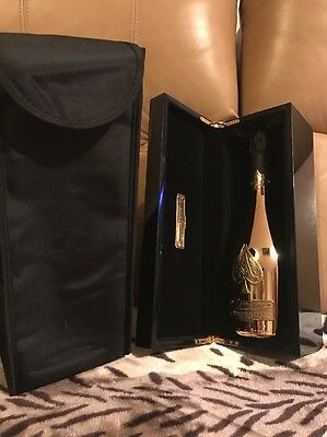 Armand de Brignac Gold Plated Bottle&Case Ace OfSpades Limited Edition/Collector