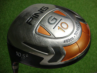 Ping G10 Titanium Driver 10.5° Left Handed Head Only