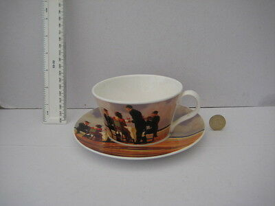 Royal Grafton Jack Vettriano  Art Deco Style Cup And Saucer
