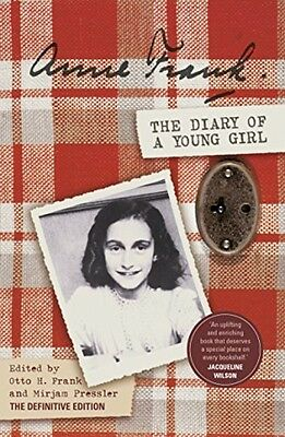 The Diary of a Young Girl Anne Frank Biography Paperback Book History Holocaust