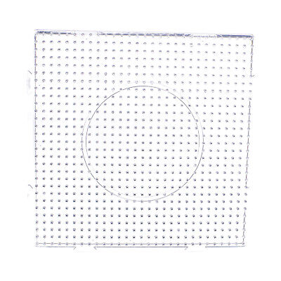 Large Square Clear Perler Fuse Beads Pegboard Kids Funny DIY Kit