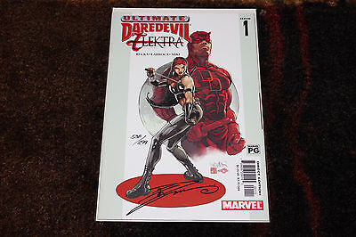 Ultimate Daredevil and Elektra #1 Dynamic Forces signed by Danny Miki #538/699