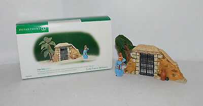 "Department 56 Little Town Of Bethlehem  ""town Gate"" 59794 Two Piece Set Mib"