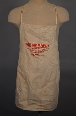 Vintage Mowhawk Finishing Products Industrial Work Apron
