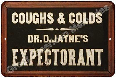 Dr. D. Jayne's Expectorant Vintage Look Reproduction Metal Sign 8x12 8122876