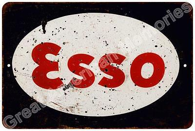 1950's Esso Motor Oil Reproduction Metal Sign 8x12 8123334