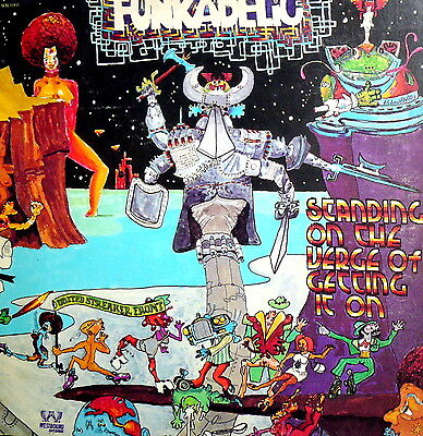"""Funkadelic Lp 12"""" G.c. Standing On The Verge Of Getting It On Made In U.s.a. 74"""