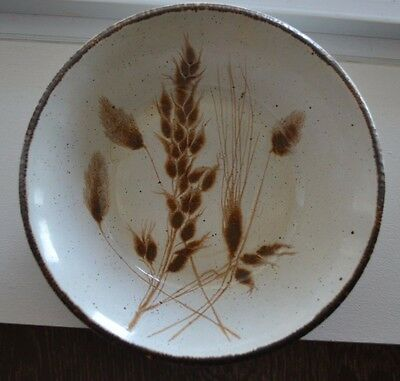 "Midwinter Stonehenge Wild Oats Soup / Cereal Bowl 6 1/4"" diameter"