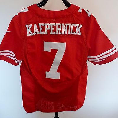 NIKE NFL San Francisco 49ers COLIN KAEPERNICK 7 American Football Jersey SIZE M