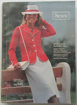 1981 Sears Spring and Summer Catalog