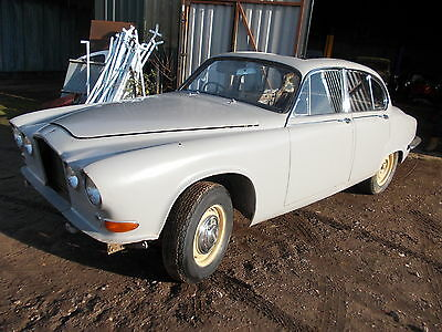 1969(G) Jaguar 420 S Type Bodyshell In Very Solid Condition With V5C Reg Doc