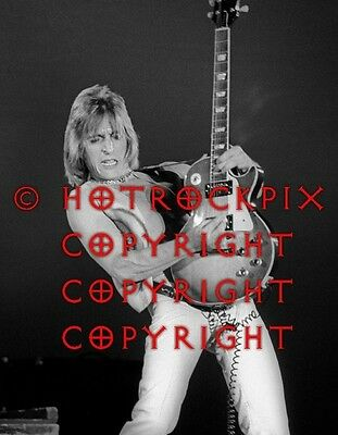 Archival Quality Photo Of Mick Ronson Of Bowie & Hunter