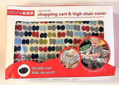 NEW SKIP*HOP Take Cover Shopping Cart and High Chair Cover in Dots FREE SHIPPING