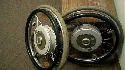 E-motion alber IM PAC wheelchair power assist wheels UNTESTED & Charger