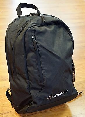 TaylorMade Golf Lightweight Backpack w/ Laptop Pocket & Comfortable Straps NEW