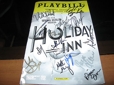 Holiday Inn Broadway Beautifully cast autographed playbill LAST TWO !!!