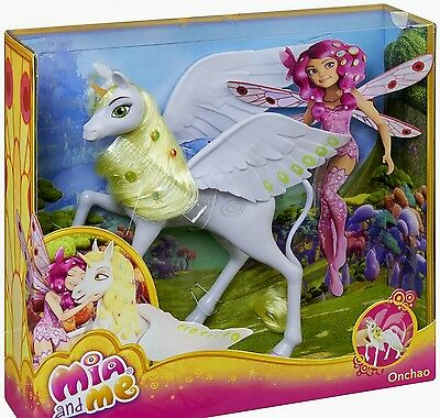 Mia and Me -  Unicorn ONCHAO - 11 inch Mattel Doll - New in Box - ready to ship
