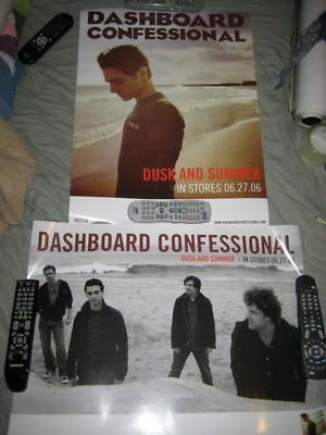 DASHBOARD CONFESSIONAL-(dusk & summer)-18x24 POSTER-NMINT-RARE