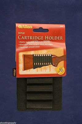 Allen Rifle Cartridge Holder Stock Sock for 9 cartridges Allen #206
