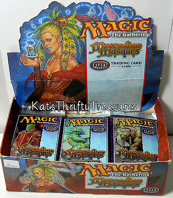 MTG Mercadian Masques Booster Pack Factory Sealed 15 Vintage Cards ENGLISH X 1