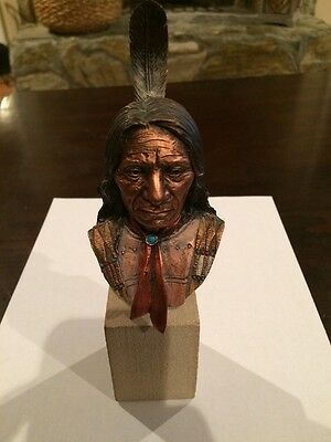 Cody Pardell Native American Sculpture, Red Cloud  #438/ of 2500