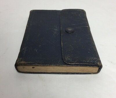 Vintage 1913 King Solomon And His Followers Masonic Coded Pocket Book