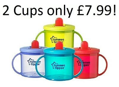 Tommee Tippee First Cup Baby Sippy Cup Toddler Cup 4M+ 190ml