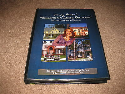 Wendy Patton - Selling On Lease Options - Money Making Fortunes Program CD Forms