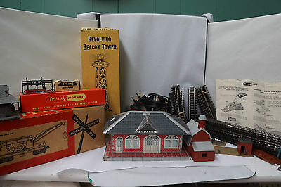 Vintage Tri-ang Hornby 00 Scale Train Set Lot of (55+) Assorted Pieces