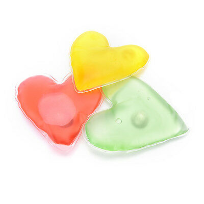 Gel hand warmers Self heating hot pack reusable PURE ROMANCE big heart gift TO