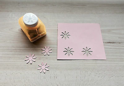 Quality Daisy Flower Tabletop Paper Punch | Cute Peace DIY Cutter | Scrapbooking
