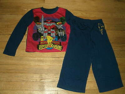 Power Rangers Mighty Morphin 2-pc Pajama Set Size 4/5 or 6/7 NWT