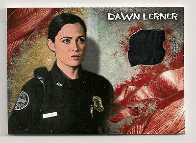 2016 Topps The Walking Dead Survival Box Dawn Lerner Shirt Relic Christine Woods