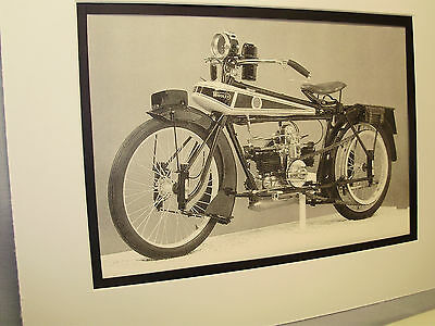 1919 Wooler Flat Twin  Motorcycle Exhibit From National Motorcycle Museum