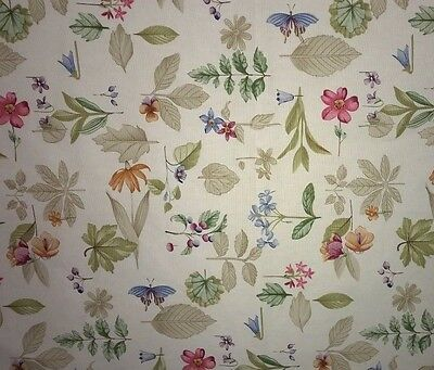 Longaberger botanical fields fabric - the highest quality approx 29 x 16.5 in.