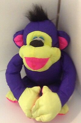 Fisher Price Vintage 1994 Puffalumps Multi-Colored Monkey