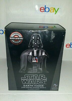 Star Wars Gentle Giant Darth Vader Classic Bust- GAMESTOP EXCLUSIVE #2080of 5000