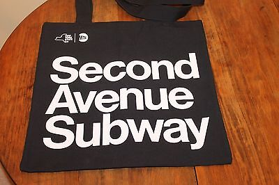 Second Avenue Subway New York City Grand Opening Tote Bag BRAND NEW