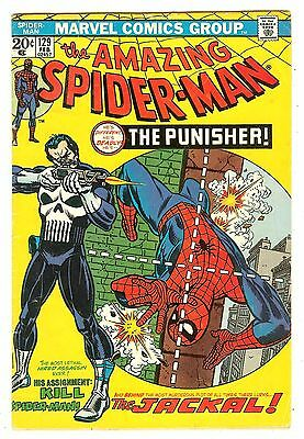 Amazing Spiderman 129   1st Punisher