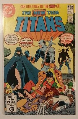 New Teen Titans #2 1St App Deathstroke Unread!!! Nm!!!