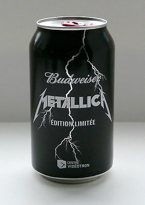 Metallica   Unopened Beer  Promotional Souvenirs  Last Chance!