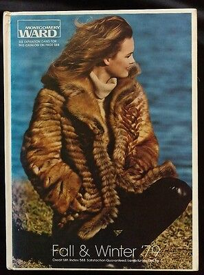 HARD COVER 1979 Montgomery Ward Fall and Winter Catalog