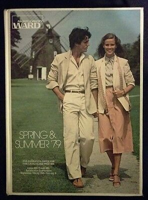 HARD COVER 1979 Montgomery Ward Spring and Summer Catalog