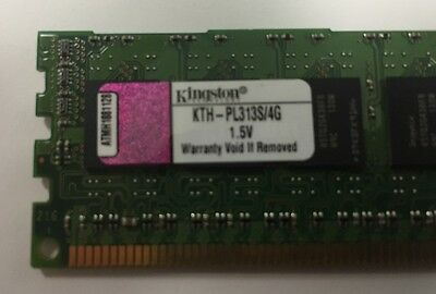 Kingston 4GB (1x4GB) KTH-PL313S/4G DDR3 - 1333mHz ECC+Reg.  RAM