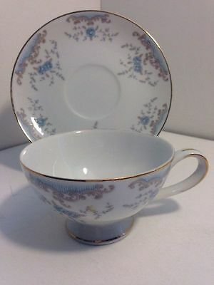 IMPERIAL CHINA W.Dalton SEVILLE  Tea Coffee Cup & Saucer Plate Set #5303