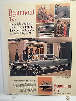 65 Acadian Beaumont Ad