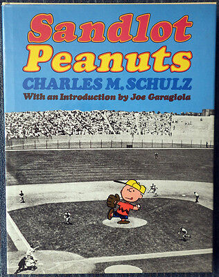 Sandlot Peanuts by Charles M Schulz - 1977 Hardcover - Near Perfect Shape!