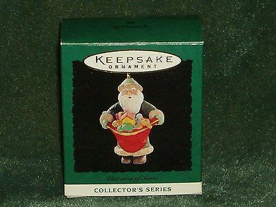 Hallmark 1995 Centuries of Santa - Miniature Ornament - NEW